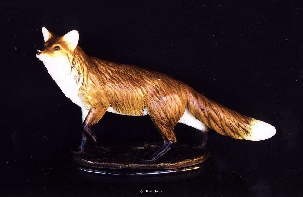 """Foxy"" <br> Life Size - Edition of 30 ""Foxy"" -  Biggame  Wildlife"