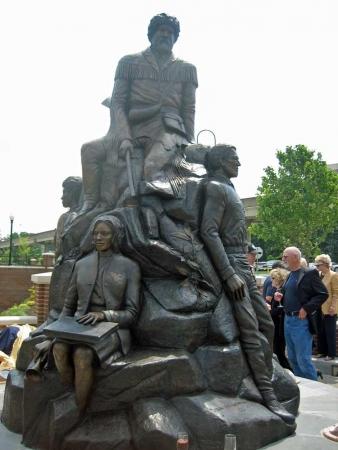 Monumental Sculpture by Burl Jones