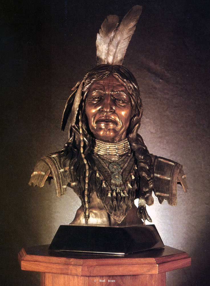 """Kicking Bear""<br>Life Size - Edition of 30 ""Kicking Bear"" -  Figurative Sculpture  People Sculpture"