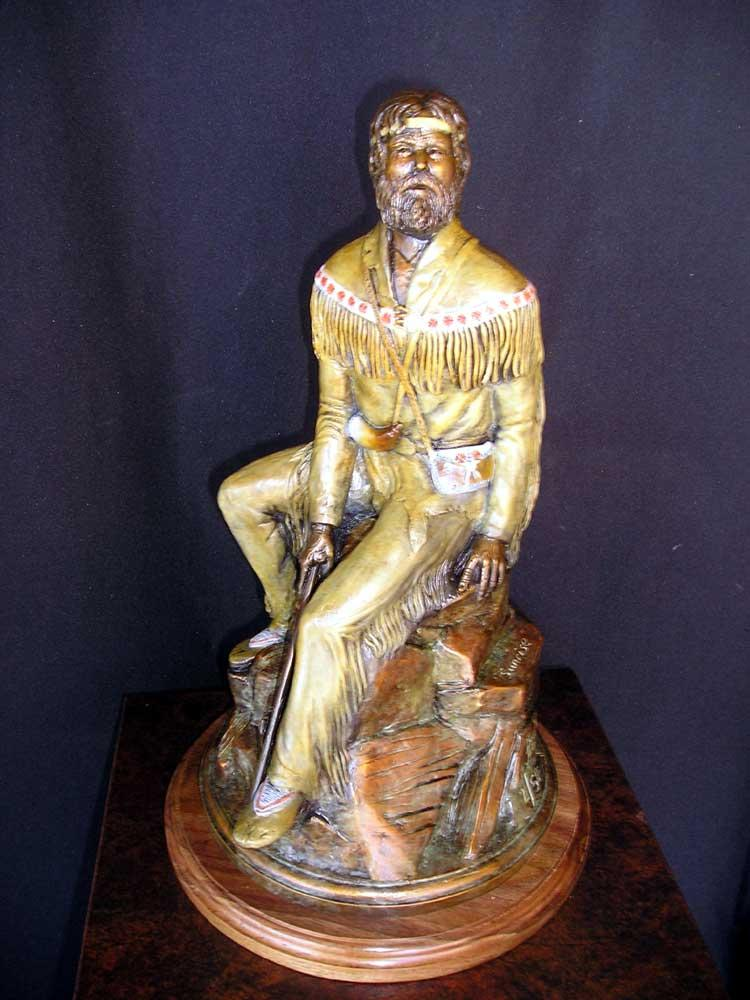 """Sunrise""<br>15 1/2 inches tall ""Sunrise""   Figurative Sculpture  People Sculpture"