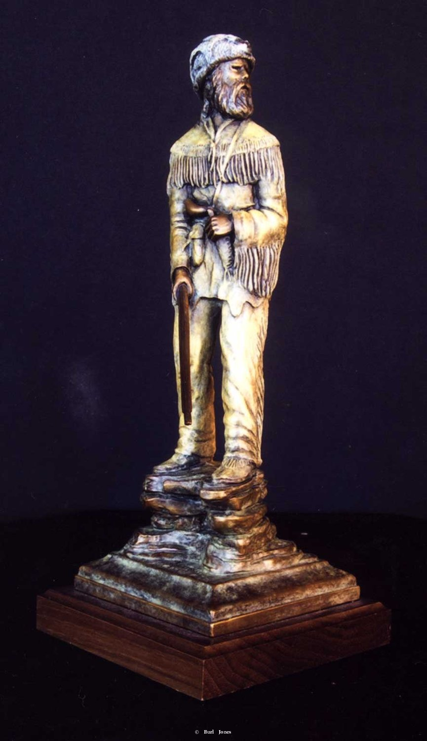 """View From The Top""<br>11"" Tall - Edition of 50 ""View From The Top"" - Figurative Sculpture  People Sculpture"