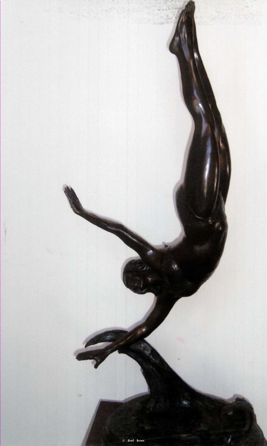 """Water Dance""<br>24"" Tall - Edition of 30 ""Water Dance"" - Figurative Sculpture  People Sculpture"